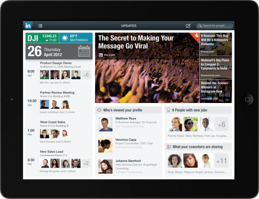 LinkedIn    iPad